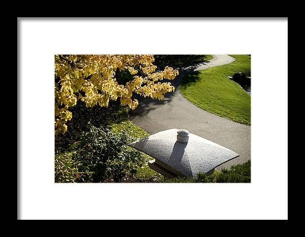 Nikka Yuko Framed Print featuring the photograph Japanese Lantern by Tom Buchanan
