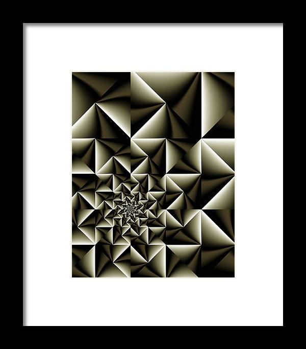 Vic Eberly Framed Print featuring the digital art Jas 4 by Vic Eberly