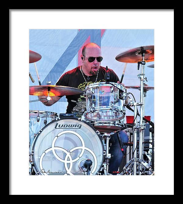 Musician Framed Print featuring the photograph Jason Bonham by Dan Beauvais