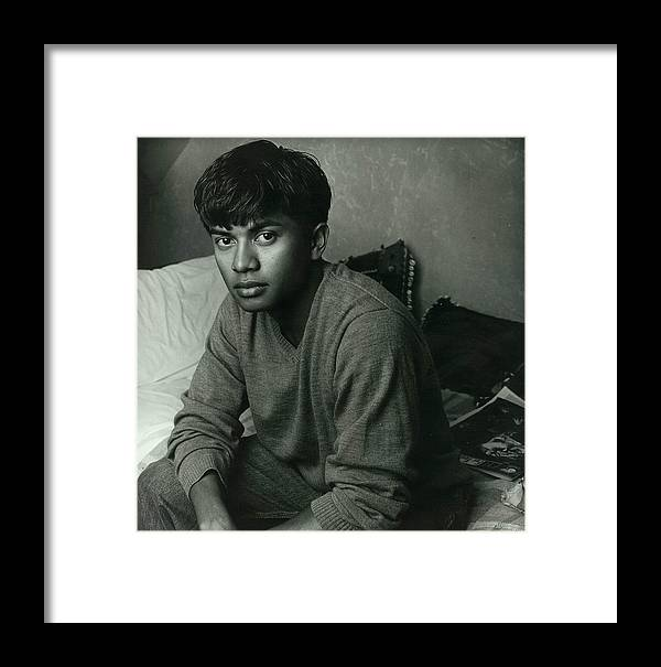 Male Framed Print featuring the photograph Jay Looking Young by Rusty Walton