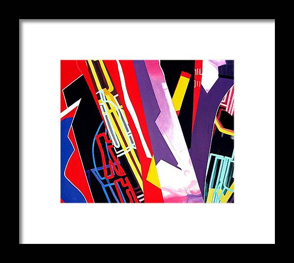Jazz Framed Print featuring the painting Jazz by Barron Holland