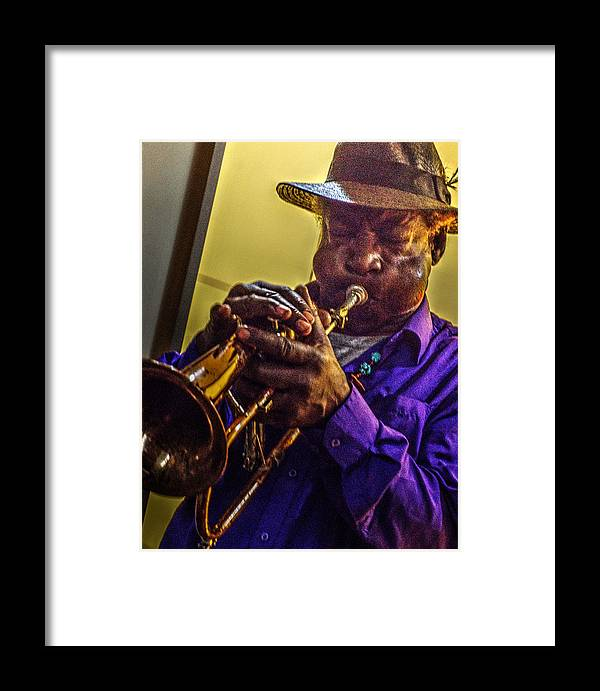 Black Framed Print featuring the photograph Jazzy Hands 938 by Jeff Stallard