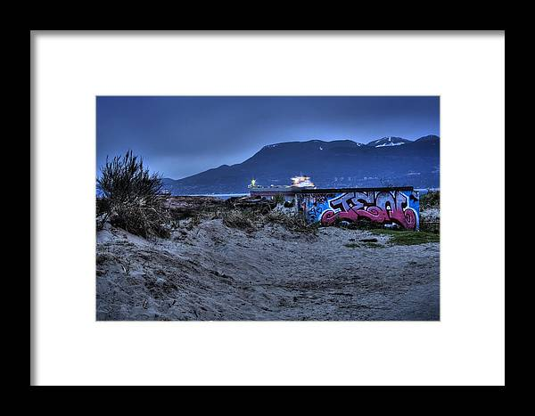 Landscape Framed Print featuring the photograph Jeni by Graham Vickers