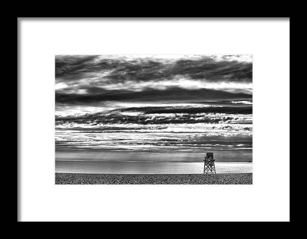 Beach Framed Print featuring the photograph Jennings Beach, Fairfield by Michael Gallitelli