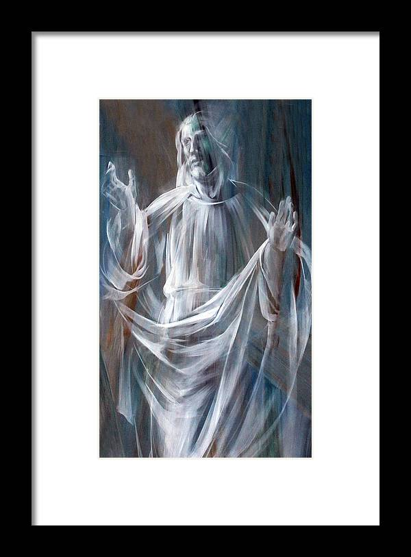 Jesus Framed Print featuring the photograph Jesus in Rome by Munir Alawi