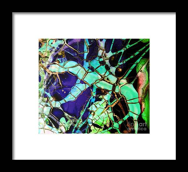 Jewels Framed Print featuring the painting Jewels by Dawn Hough Sebaugh
