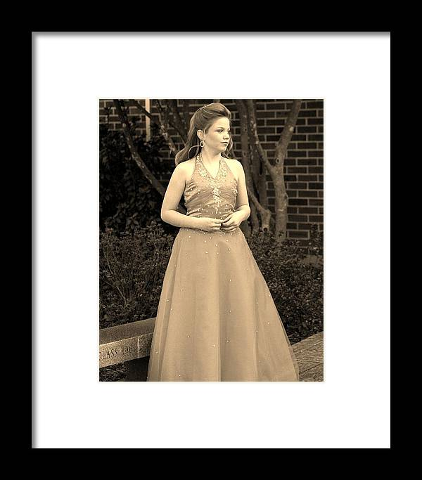 Framed Print featuring the photograph Jodi B by Lisa Johnston