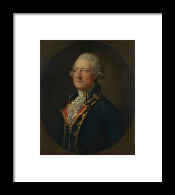 John Hobart 2nd Earl Of Buckinghamshire Framed Print By Thomas