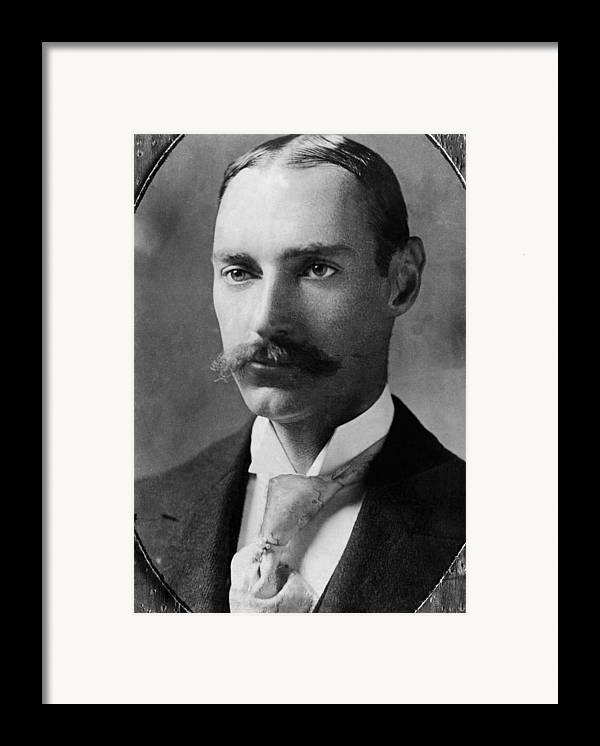 1910s Framed Print featuring the photograph John Jacob Astor Iv 1864-1912 by Everett