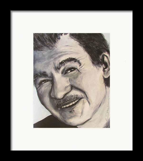 John Prine Framed Print featuring the painting John Prine by Eric Dee