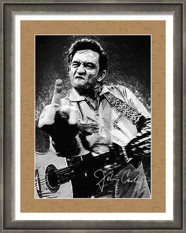 Johnny Cash by Zapista OU