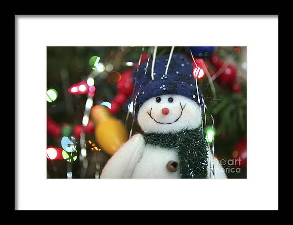 Christmas Framed Print featuring the photograph Jolly by Jeannie Burleson