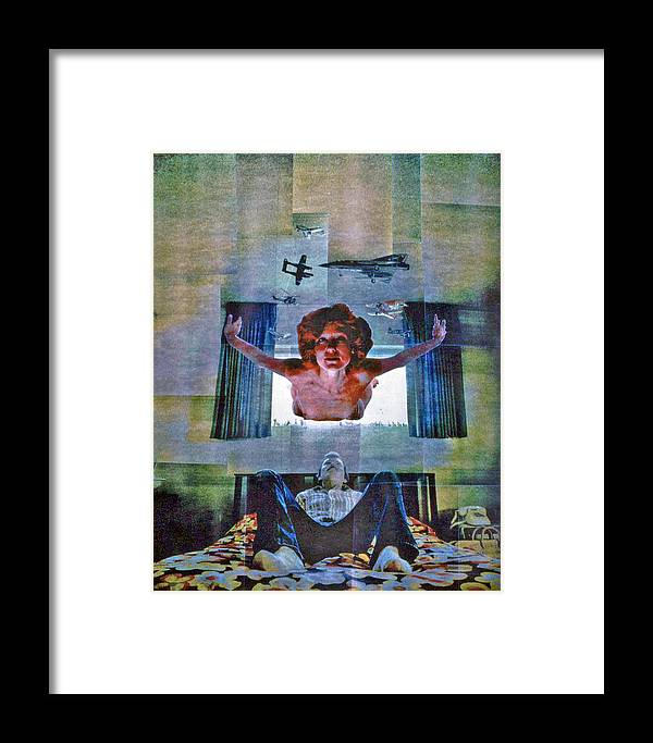 Nude Framed Print featuring the photograph Nude Jordan by Randy Sprout