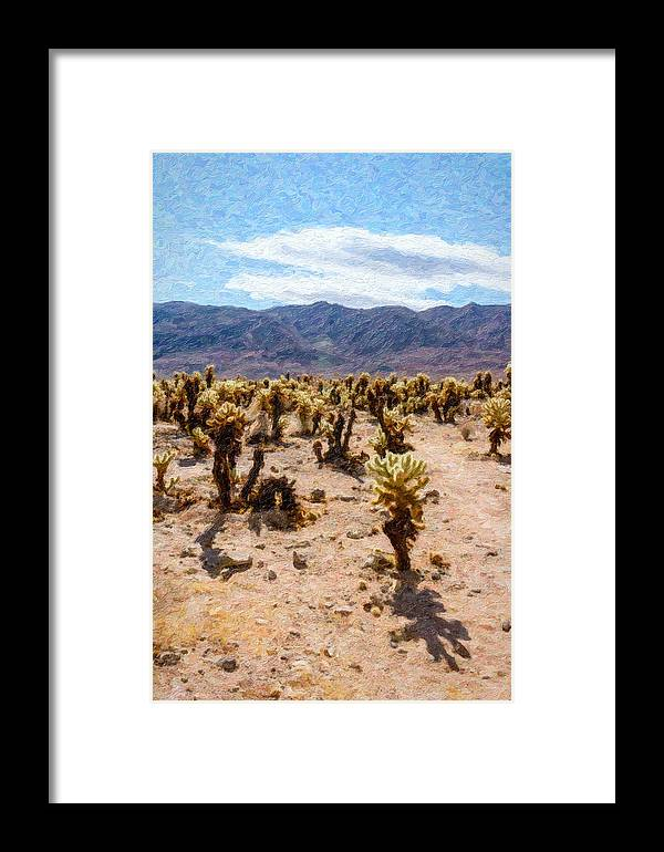 Desert Framed Print featuring the photograph Joshua Tree Ca 3 by Stefan H Unger