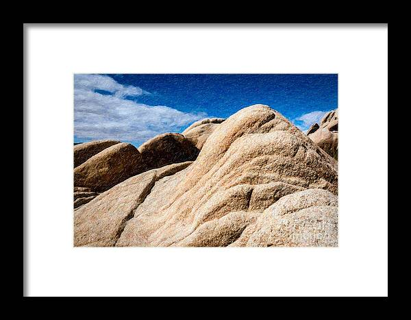 Desert Framed Print featuring the photograph Joshua Tree Ca 9 by Stefan H Unger