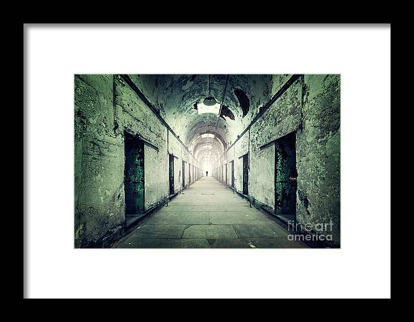 Kremsdorf Framed Print featuring the photograph Journey To The Light by Evelina Kremsdorf