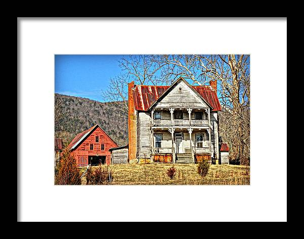 Abandon House Framed Print featuring the photograph Judged by Keri Butcher