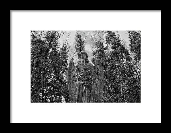 Anglican Framed Print featuring the photograph Judgement Day by Monika Tymanowska
