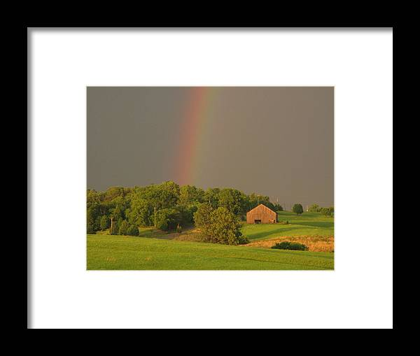Landscape Framed Print featuring the photograph Judys Hope by Martie DAndrea
