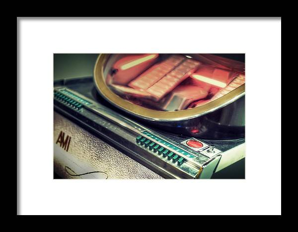 Jukebox Framed Print featuring the photograph Jukebox by Scott Norris
