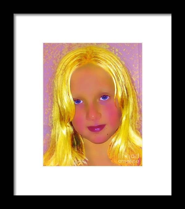 Portrait Framed Print featuring the photograph Julia by Jeff Breiman