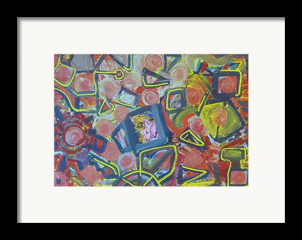 Paintings Framed Print featuring the painting Junco Partner by Bryan Zingmark