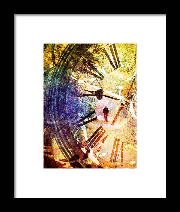 Clock Framed Print featuring the photograph June 5 2010 by Tara Turner