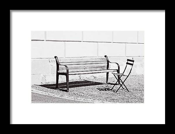 Just Framed Print featuring the photograph Just A Chat by HazelPhoto