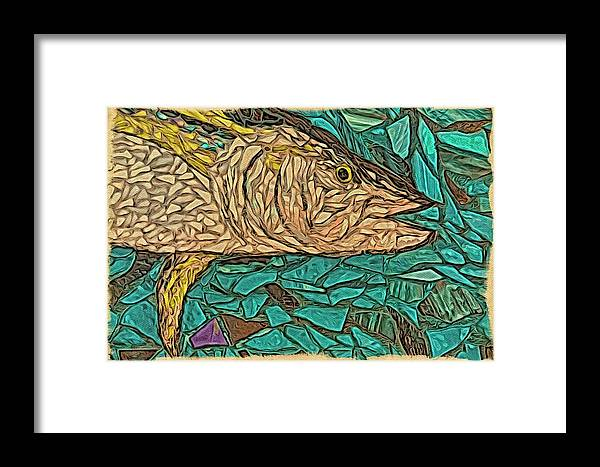Alicegipsonphotographs Framed Print featuring the photograph Just A Fish by Alice Gipson