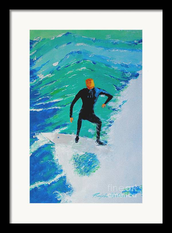 Beach Art Framed Print featuring the painting Just Another Ride by Art Mantia