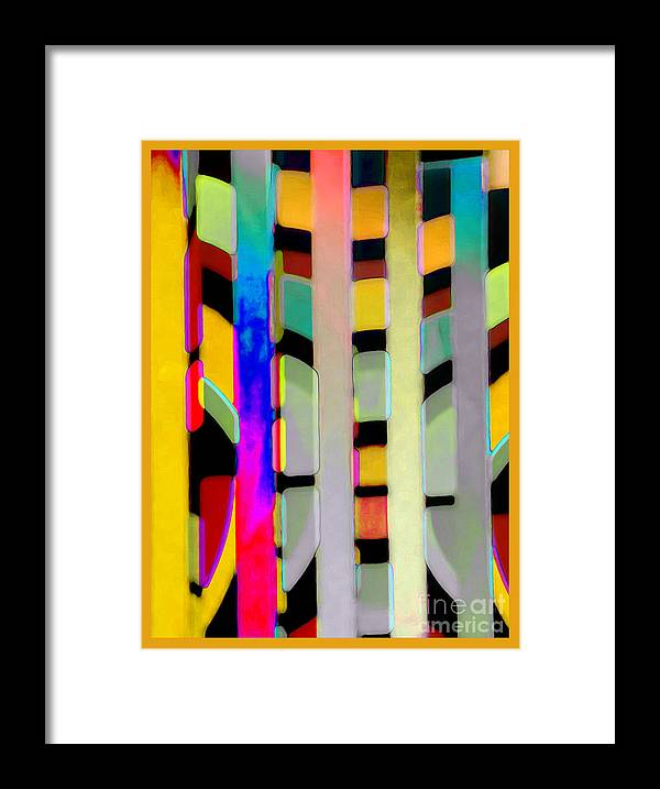 Abstract Framed Print featuring the photograph Just Color 2 by Linda Parker