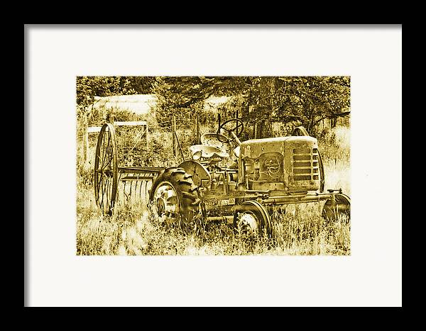 Vintage Framed Print featuring the photograph Just For Lookin' At... Now by Linda McRae