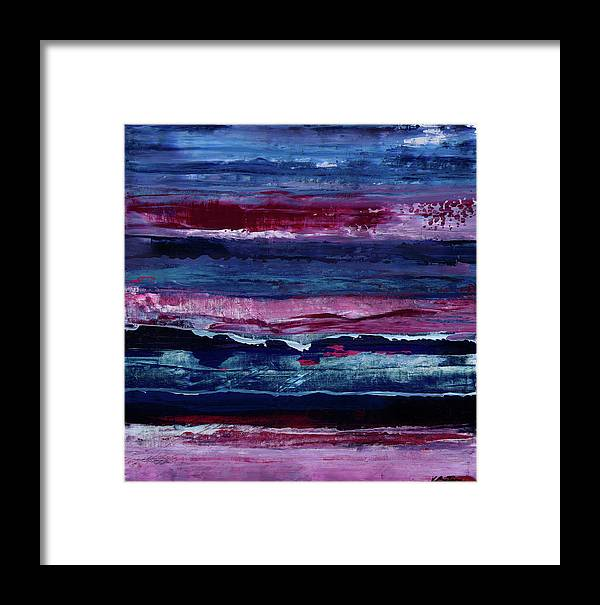 Canvas Print Framed Print featuring the painting Just Like That by K Batson Art