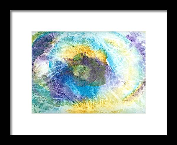Surf Framed Print featuring the painting Just Trippin by Laura Johnson