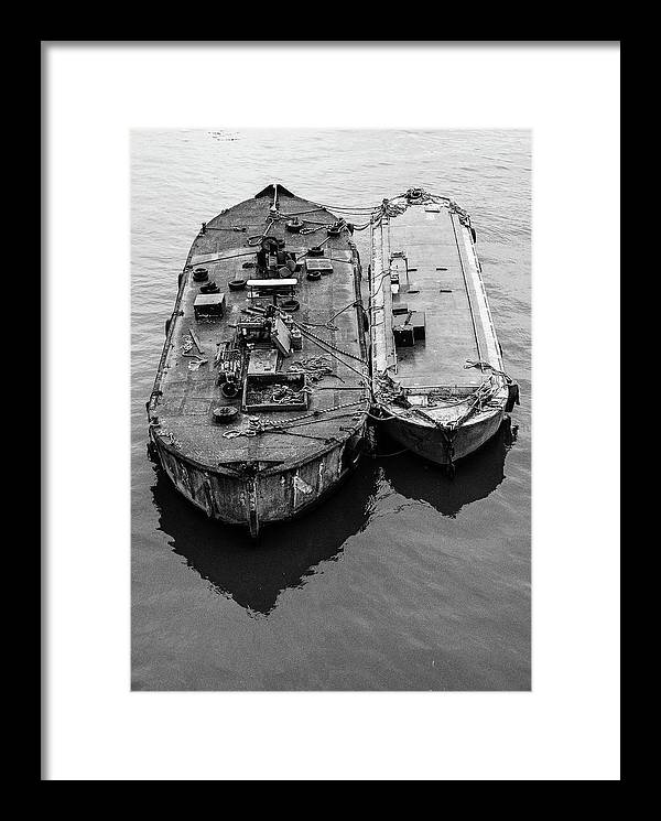 London Framed Print featuring the photograph Just Us Two by Aaron Jean