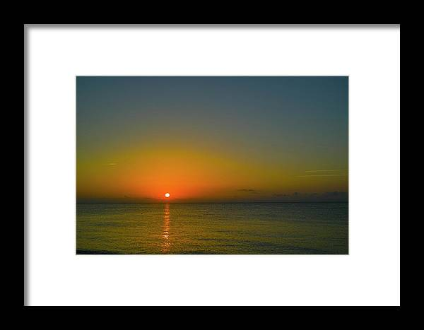 Sunrise Framed Print featuring the photograph Justified Narcissism by Roberto Aloi