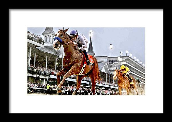 Justify Wins Kentucky Derby by CAC Graphics