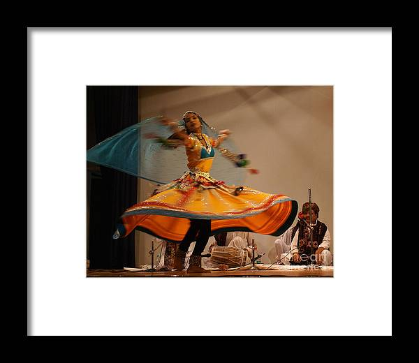 Kabelia Framed Print featuring the photograph Kabelia 27 by Padamvir Singh