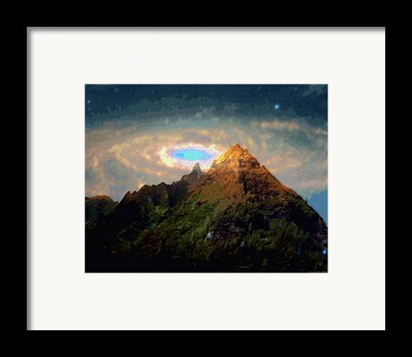 Tropical Interior Design Framed Print featuring the photograph Kalakupua by Kenneth Grzesik