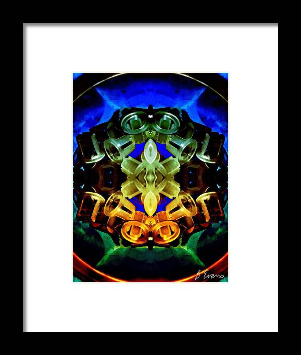Multicolor Framed Print featuring the photograph Kaleidoscope by Barbara Evans