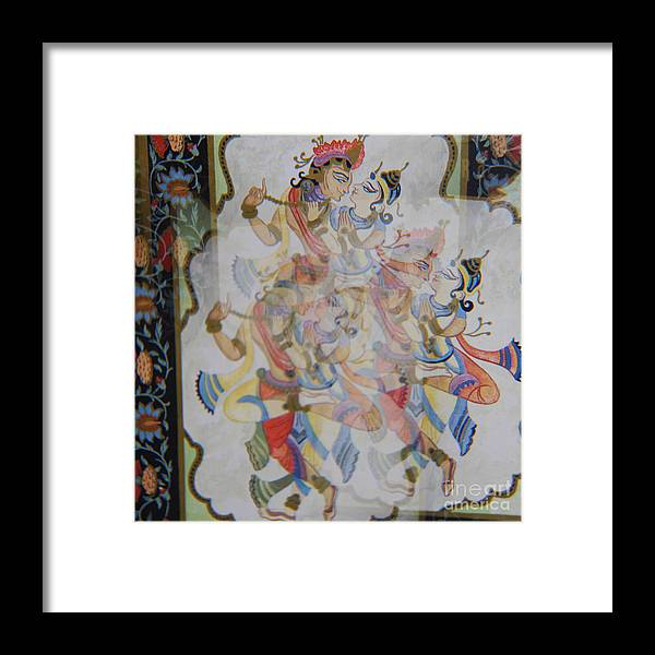 Kama Sutra Framed Print featuring the photograph Kama Sutra Thrice by Sean-Michael Gettys