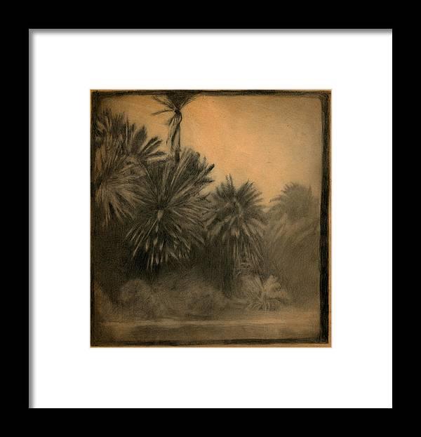 Maui Framed Print featuring the drawing Kanaha by Paulo Sabado
