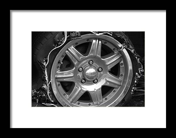 Black And White Framed Print featuring the photograph Karma Is A Bitch by Rob Hans