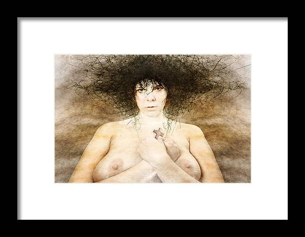 Framed Print featuring the photograph Katechist by Zygmunt Kozimor