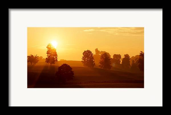 Kentucky Framed Print featuring the photograph Kentucky Morning by Keith Bridgman