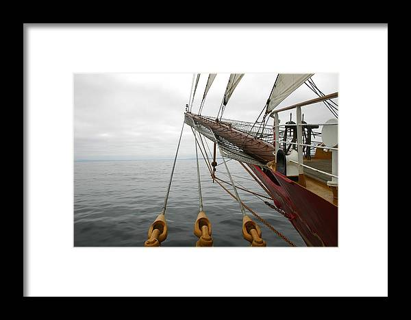 Sailing Framed Print featuring the photograph Kersones by Hans Jankowski
