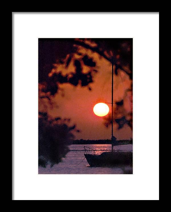 Seascape Framed Print featuring the photograph Key Largo by Steve Karol