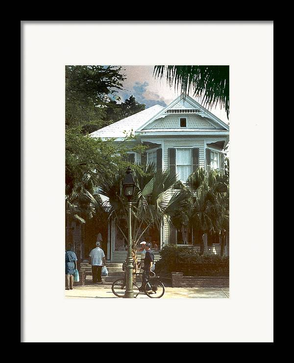 Historic Framed Print featuring the photograph Keywest by Steve Karol