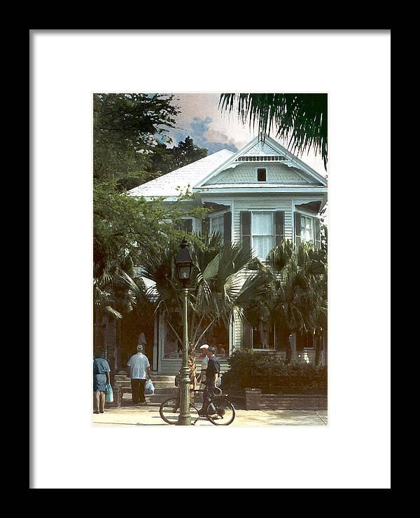 Historic Framed Print featuring the photograph Keywest by Steve Karol