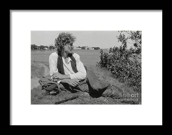Portrait Framed Print featuring the photograph Kim by Lionel F Stevenson